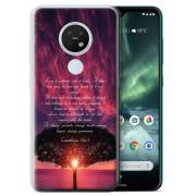 Stuff4 (Love Is Patient/Corinthians) Christian Bible Verse Nokia 6.2/7.2 2019 Phone Cas