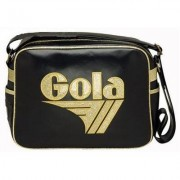 Borsa Gola Redford Black/Antique gold