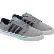 ADIDAS NEO CLOUDFOAM SUPER SKATE Sneakers For Men(Grey, White, Black)
