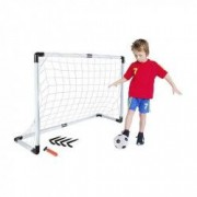 Set Joc fotbal copii poarta cu plasa minge pompa 120x40x80 cm