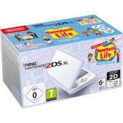 New Nintendo 2DS XL white Lavender incl. Tomodachi Life