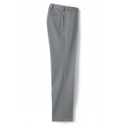 ランズエンド LANDS' END メンズ・ノーアイロン・チノ・パンツ/ストレート/プレーン/股上ふつう(ピューターヘザー)