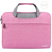 HAWEEL Waterproof Lightweight Oxford Sleeve Pouch for 13-inch Laptops/Tablets - Pink