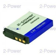 2-Power Digitalkamera Batteri Sony 3.6v 1220mAh (NP-FR1)