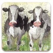 koelkastmagneet alex clark - koeien