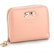 Colorful Lovely Purse Clutch Women Wallets Small Bag PU Leather Card Hold