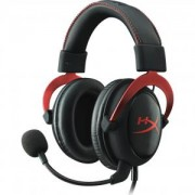 Геймърски слушалки Kingston HyperX Cloud II - Pro Gaming Headset (Red) - KHX-HSCP-RD