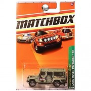 Matchbox Jungle Explorers Land Rover Defender 110 Anaconda Olive Army Green