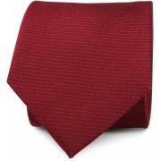 Krawatte Seide Bordeaux Rot - Bordeaux