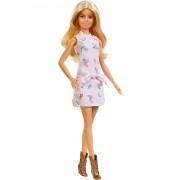 Barbie Fashionista Muñeca Rubia con Vestido de Flores