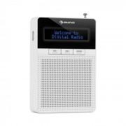 Auna DigiPlug DAB, радио гнездо, DAB +, FM / PLL, BT, LCD дисплей, бял (KC6-Digiplug DABWH)