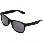 Aligatorr Stylish UV Protection Black Unisex UV400 Wayfarer Sunglass set of 5