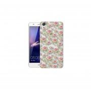 Funda Para Celular Huawei Y6 II - Flores Blanco