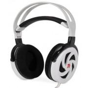 Casti eSports Shock Spin HD cu microfon, bass premium, albe