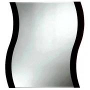 Amirro Zrcadlo s fazetou Amirro Storm Black 65x50 cm černá 711-737S