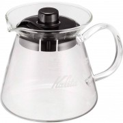 Kalita Glass Server G serveringskanna med glashandtag 300 ml