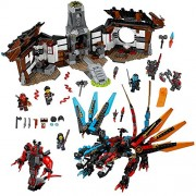 LEGO Ninjago Dragon's Forge 70627 Building Kit (1137 Piece)