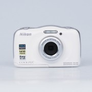 Nikon Coolpix W100 Digital Camera - White