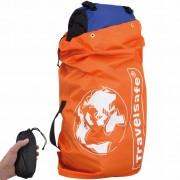 Flightbag Voor Backpack Oranje 100X45X25cm