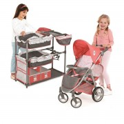Hauck Play 'N' Go Twin Doll Play Set Stroller And Play Center