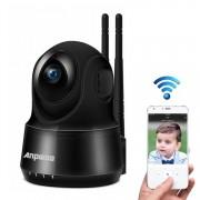 Anpwoo voogd 2.0MP 1080 P 1/3-inch CMOS HD WiFi IP-Camera de opsporing van de motie van de steun / Night Vision (zwart)