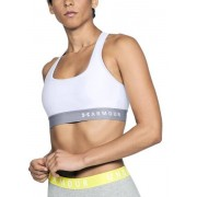 Under Armour Mid Crossback Bra (Cup B) - reggiseno sportivo medio impatto - White