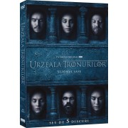 Game of Thrones-Season 6:Emilia Clarke, Peter Dinklage, Kit Harington - Urzeala tronurilor - Sezonul 6 (5DVD)