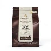 Ciocolata Neagra 50,7% Recipe 805, 2,5 Kg, Callebaut