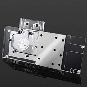 Bitspower GPU Waterblock for GIGABYTE GV-N98TG1 GAMING-6GD VGA Card, Clear Acrylic