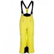 ALPINE PRO ANIKO 2 Dětské lyžařské kalhoty KPAM122564 Sulphur spring 140-146