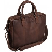 Chesterfield Bags Leren Laptoptas 15 inch Floris Cognac
