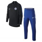 Chelsea FC Dri-FIT Squad Fußball-Trainingsanzug für ältere Kinder - Schwarz