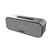 P8 HOPESTAR Altavoz Bluetooth Inalámbrico Portátil Reproductor De Música Banco De Alimentación Negro&plata