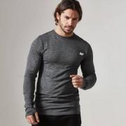 Myprotein T-Shirt ML Sans Coutures - M - Noir