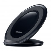 Incarcator wireless tip stand Fast Charge, Negru
