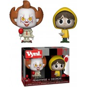 "Funko VYNL 4"" 2-Pack: It 2017: Pennywise & Georgie"