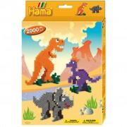 Hama Strijkkralen Hama Dinosaurus 2000 Stuks