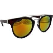 Els Round Sunglasses(Yellow)