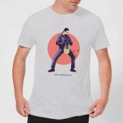 The Big Lebowski Camiseta El gran Lebowski Jesus - Hombre - Gris - L - Gris