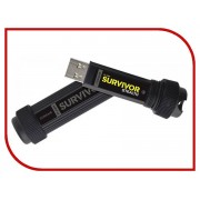 USB Flash Drive 32Gb - Corsair Flash Survivor Stealth USB 3.0 CMFSS3B-32GB