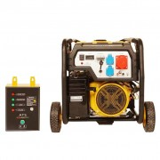 Generator open frame Stager FD 10000E3+ATS, motor Stager, 25 l, 230 V, 8.5 kW