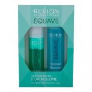 Revlon Professional Equave Instant Volumizing Detangling подаръчен комплект балсам за коса без отмиване 200 ml + мицеларен шампоан 250 ml за жени