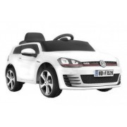 Masinuta VW Golf GTI Premium Soft-Start Music player LED Alb
