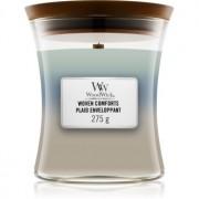Woodwick Trilogy Woven Comforts lumânare parfumată cu fitil din lemn 275 g