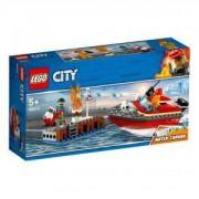 Конструктор Лего Сити - Пожар на доковете, LEGO City, 60213