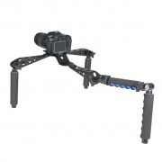 DSLR Rig - Movie Kit Shoulder Rig for Video Camcorder Camera DV DSLR Cameras - Suport umar