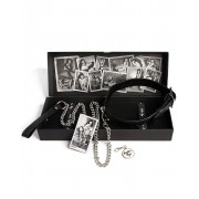 Bettie Page - Collar Me Collar and Lead Set