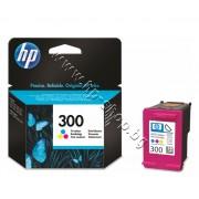 Касета HP 300, Tri-color, p/n CC643EE - Оригинален HP консуматив - касета с глава и мастило