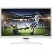 "LG Monitor/TV 23,6"" - 24TK410V-WZ, 1366x768, 16:9, 250 cd/m2, HDMI,CI Slot,USB, DVB-T2/C/S2, hangszóró - FEHÉR"