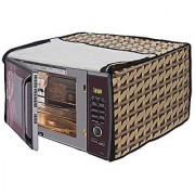 Lithara Beautiful Multi color Designed Printed Microwave Oven Cover for Samsung MW73AD-B/XTL 20 Litre